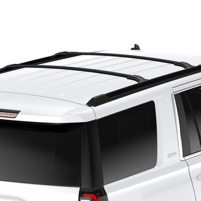 2017 Tahoe Roof Rack Cross Rail Package, Black
