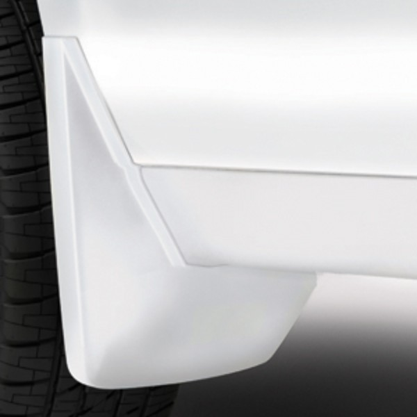 2018 Suburban Splash Guards, Rear Molded Set, Abalone White