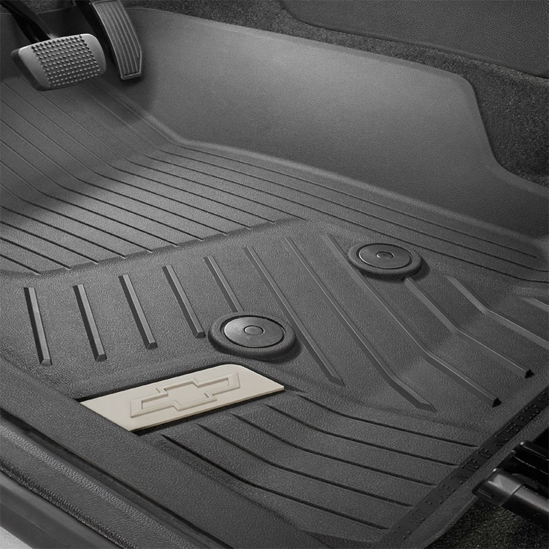 2015 colorado floor mats  front premium all weather  z71
