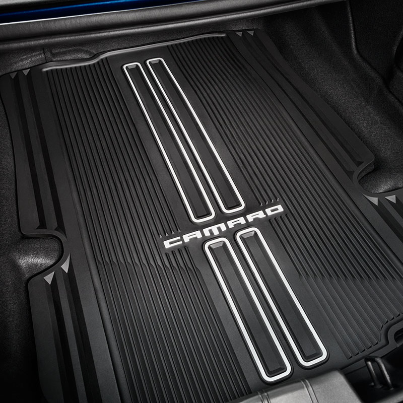 2019 Camaro Cargo Area Mat, Black, Coupe Models, Premium All-Weather