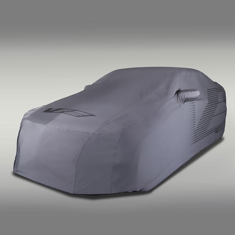 2016 CTS-V Sedan Outdoor Vehicle Cover, Gray