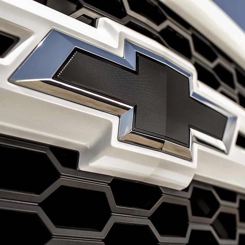 2014 Silverado 1500 Black Bowtie Emblems, Front and Rear Set, ShopChevyParts.com