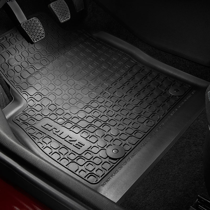 2016 Cruze Premium All Weather Front And Rear Floor Mats