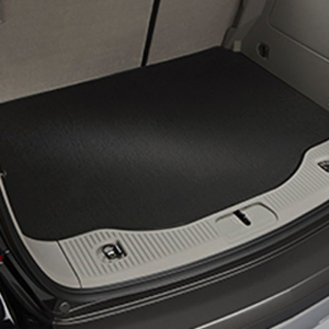 2019 Cruze Cargo Area Mat, Black, Carpet