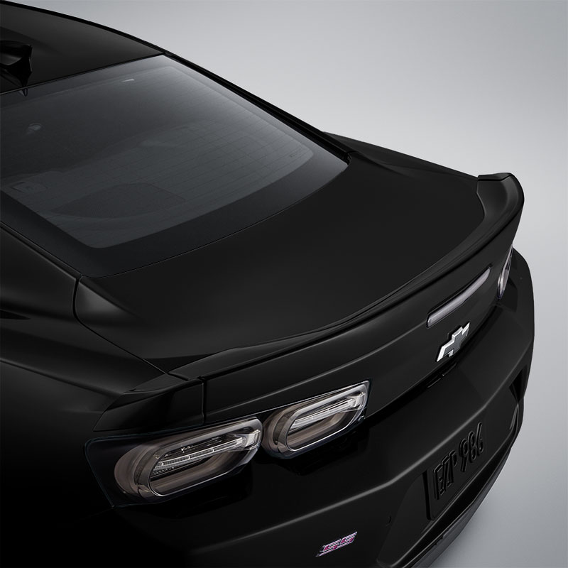 2019 Camaro Coupe Blade Spoiler Kit, Black (GBA)