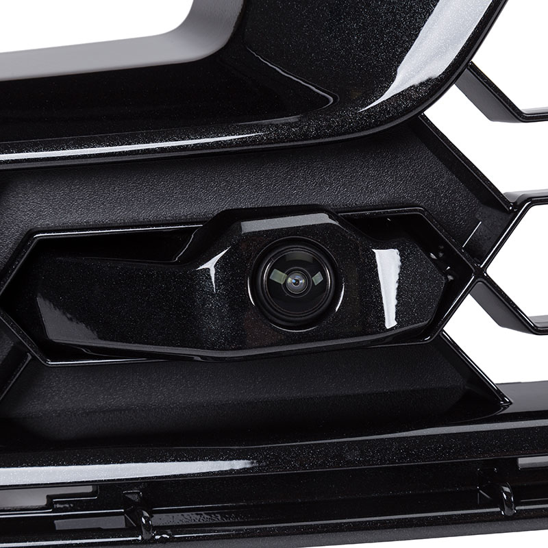2018 Corvette Z06 Grille Kit, For Models With Front Camera