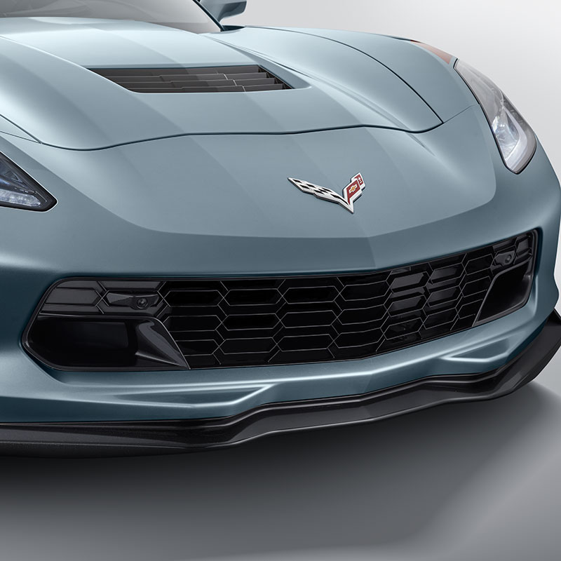 2019 Corvette Z06 Grille Kit, For Models With Front Camera