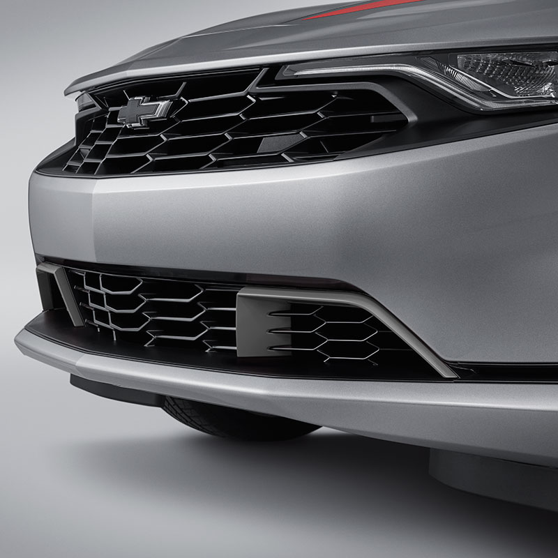 2020 Camaro Lower Grille, Black with Silver Painted Inserts, LS and LT Models