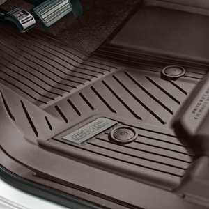 2016 Yukon Xl Premium All Weather Floor Liners Front