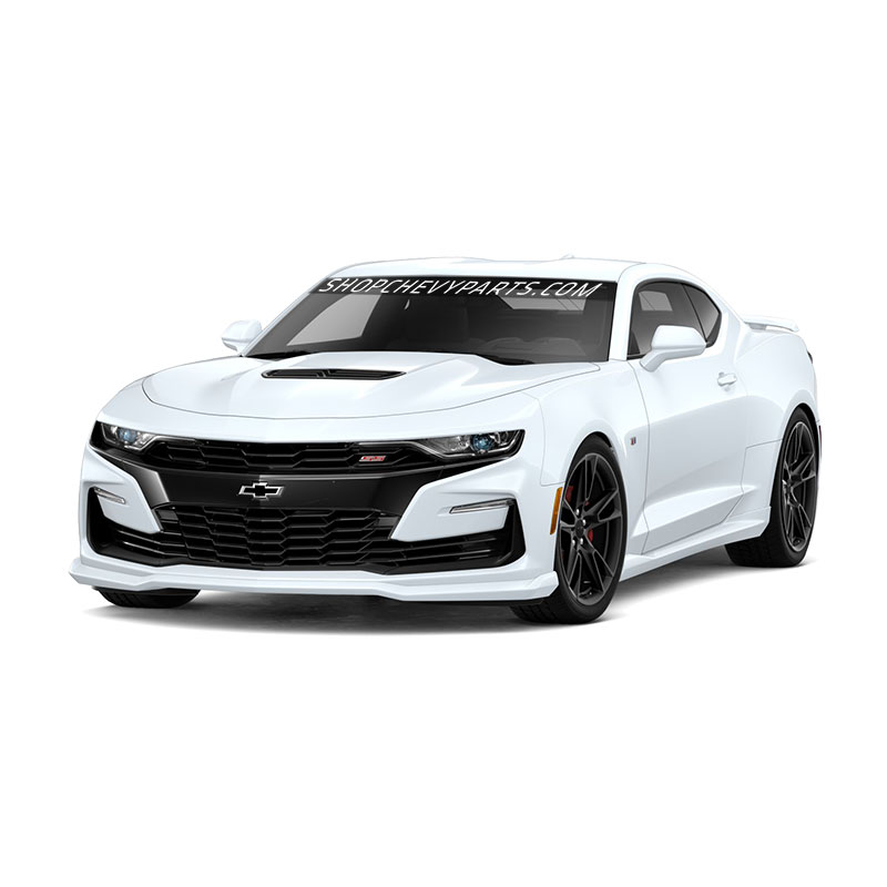 2019 Camaro Ground Effects, Summit White, LS, LT, RS, SS, Dual Exhaust Tips, N10