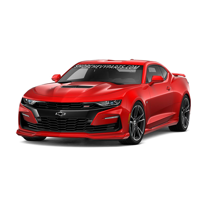 2019 Camaro Ground Effects, Red Hot, SS Models, Standard Dual Exhaust (N10)