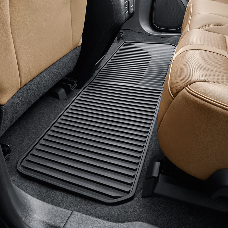2019 Blazer Floor Mats, Second Row, Black, Premium All-Weather