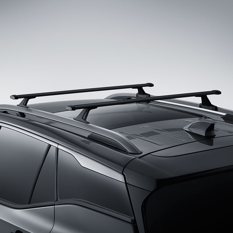 2018 Equinox Roof Rack Cross Rail Package Black