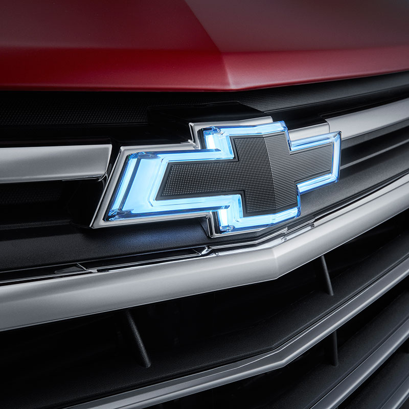2019 Equinox Emblems, Black Bowties, Front Illuminated and Rear, Halogen Headlamps