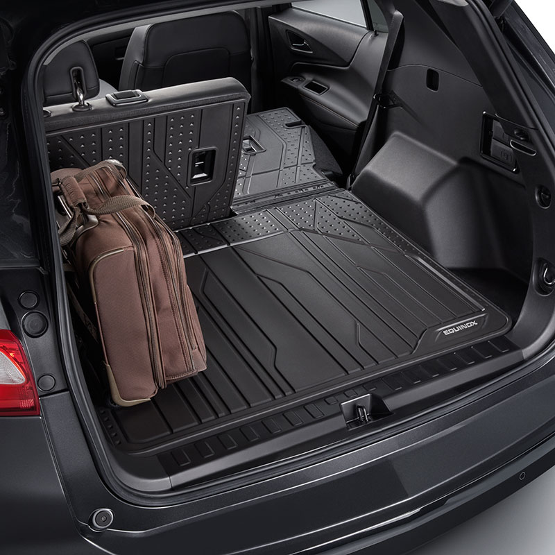 2018 Equinox Integrated Cargo Liner Custom Molded, Black