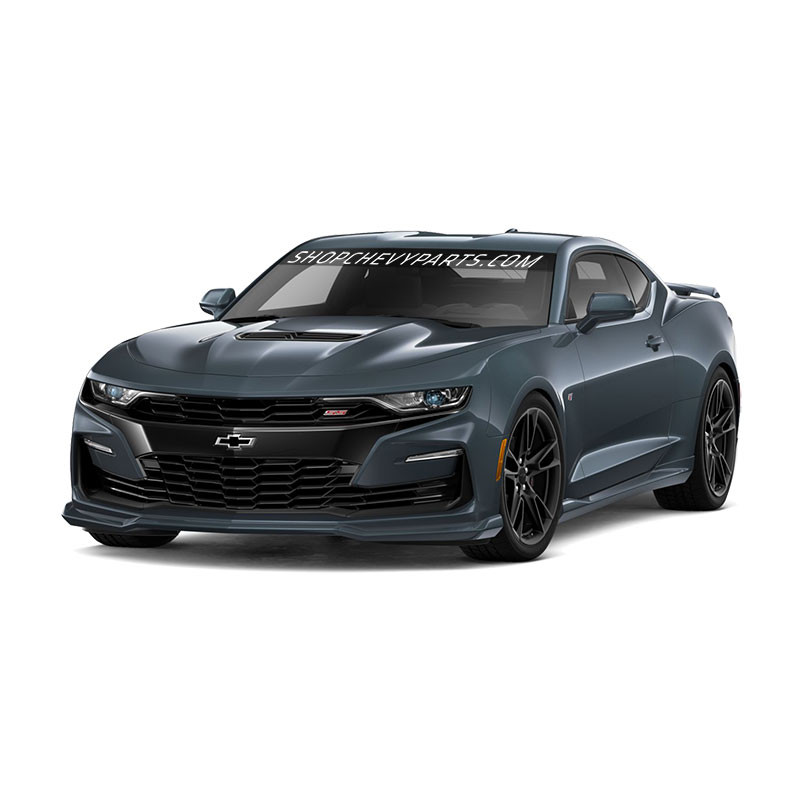 2020 Camaro Ground Effects, Shadow Gray Metallic, LS, LT, RS, SS Models, Quad Exhaust Tips, NPP