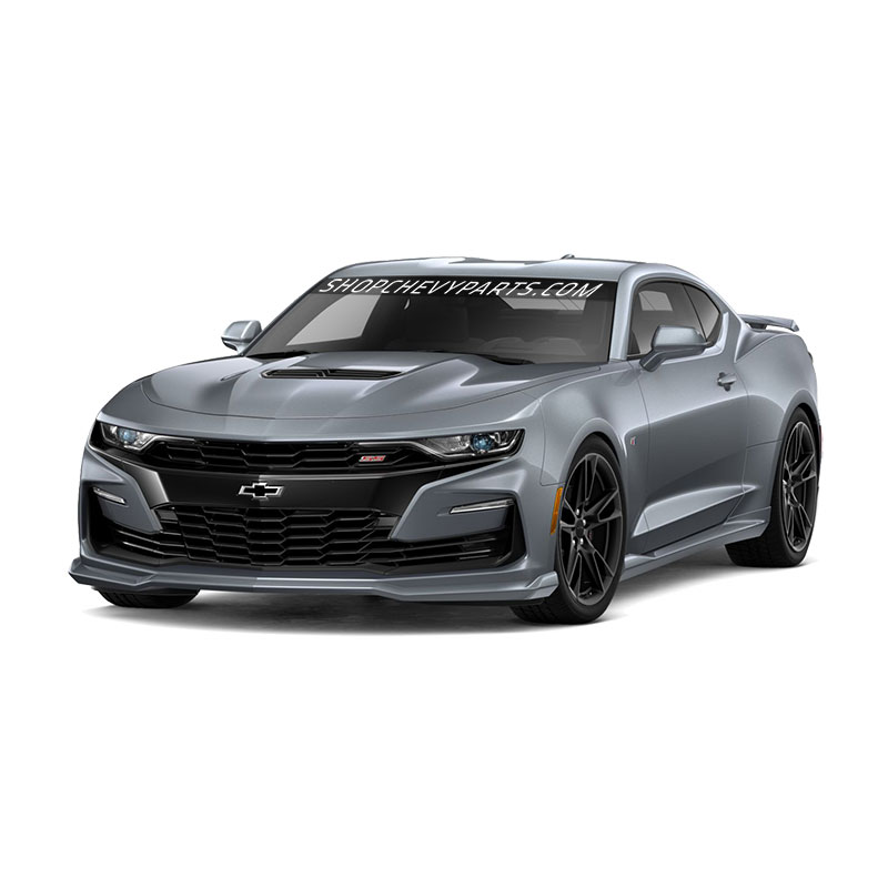 2019 Camaro Ground Effects, Satin Steel Gray Metallic, SS Models, Standard Dual Exhaust (N10)