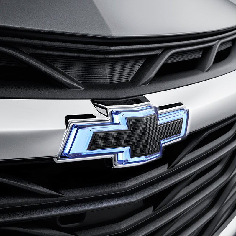 2019 Cruze Illuminated Black Bowties, Illuminated Front and NON-Illuminated Rear