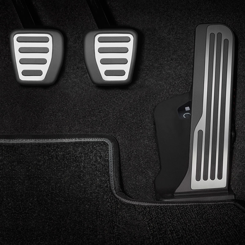 2016 Camaro Pedal Covers Stainless Steel Manual Transmission