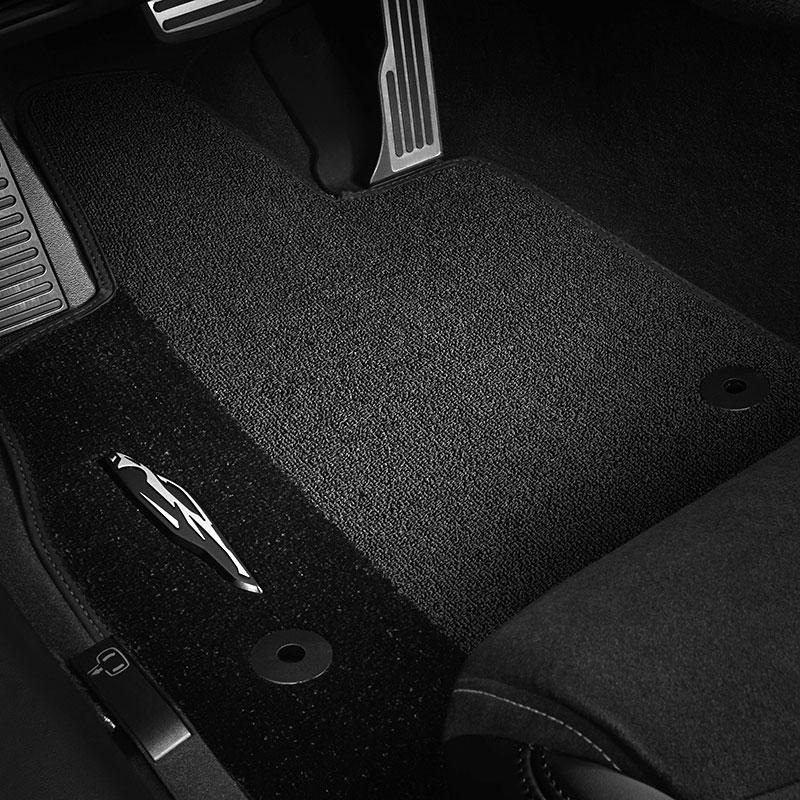 CFMAX1CH9051 Black Coverking Custom Fit Front Floor Mats for Select Chevrolet El Camino Models Nylon Carpet