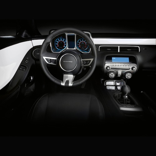 2014 Camaro Interior Trim Kit   White (GAZ) Great Pictures