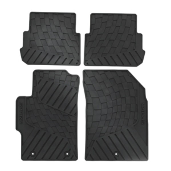 2015 Spark Floor Mats Front And Rear Premium All Weather