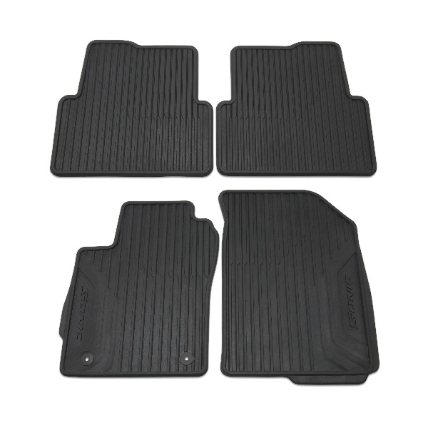 2012 Sonic Floor Mats - Front and Rear Premium All Weather Black