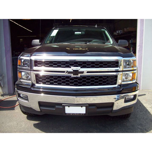 2014 Silverado 1500 Black Bowtie Front And Rear Set