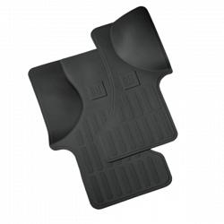 Floor Mats - Front Vinyl Replacement - Ebon