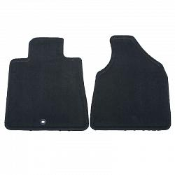 2009 - 2012 Floor Mats - Front Carpet Replacements, Ebony